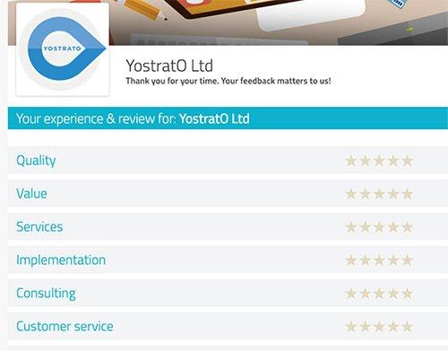 yostrato client feedback